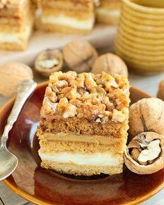 Sycylijskie ciasto pomarańczowe Snickers Cake Recipes, Polish Recipes, Polish Food, Dream Cake, Food Cakes, Sweet Recipes, Food And Drink, Sweets, Cookies