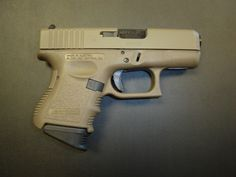 Glock 27. Everyone that has someone or something they need/want to protect should carry!
