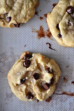 Perfectly Puffy Chocolate Chip Cookies Recipe on Yummly