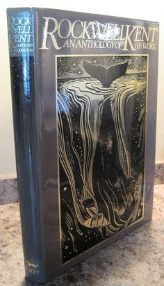 ROCKWELL KENT An Anthology of His Work 1st Edition Large Book BEAUTIFUL Art Deco