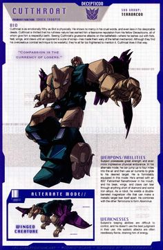 Transformers Universe - Gallery: G1 Terrorcons