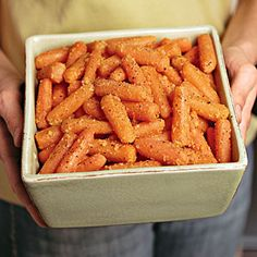 Thanksgiving Dinner Side Dishes: Orange-Ginger-Glazed Carrots Recipe