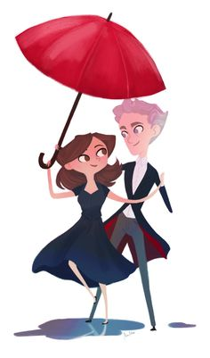 I've been on a Doctor Who binge and I love these two just so much - and it's been raining :)