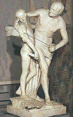 Dedalo e Icaro di Canova 1779 Museo Correr Venezia