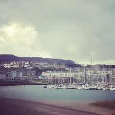 An old fishing village north of Dublin, Ireland called Howth -so picturesque!