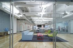 Dreamhost Office Interior by Studio O+A