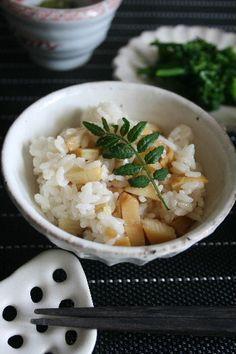 Japanese food / 筍ご飯(Takenoko Gohan) / Bamboo Shoot Rice