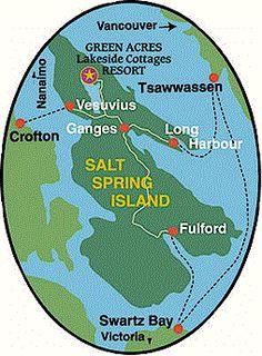 find Green Acres resort - map Lakeside Cottage, Acre, Salt, Island, Spring, Green, Mornings, Islands