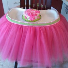 This is tutu cute for a little girl's first birthday