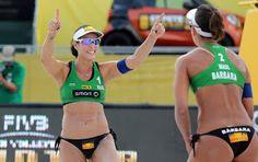 Blog Esportivo do Suíço: Ágatha/Bárbara vence revanche em final com Juliana/Maria Elisa nos EUA