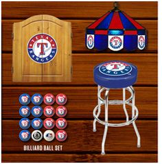 The best place to find all your Texas Rangers Man Cave needs!