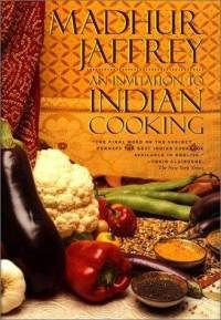 An Invitation To Indian Cooking by Madhur Jaffrey. #cooking, #cooks, #cookbooks