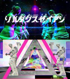 "Mr.都市伝説関暁夫の都市伝説6 ARムービー  ""Zoltaxian"" Music video, Glitch Animation by…"