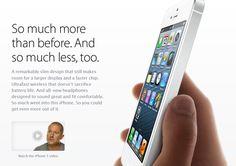 Apple copywriters like broken sentences
