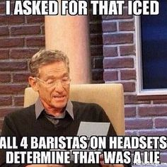 #BaristaLife #BaristaProblems #ToBeAPartner http://thebaristalife.com/ hahahaha...so funny and true!