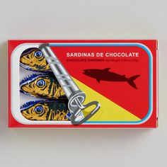 One of my favorite discoveries at WorldMarket.com: Simon Coll Chocolate Sardines, Set of 6