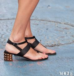 gladiators and lace up heels