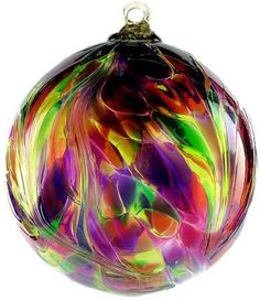 Discover our huge collection of Kitras Art Glass, a premier glass studio in Canada. Feather balls, Witch Balls, Trees of Enchantment, Birthday Ornaments