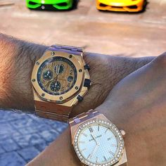 His and Her watch. Tag the person you love.#  305-377-3335 info@diamondclubmiami.com  www.diamomdclubmiam.com #ThankYou #HisAndHer #Bullfest2017 #miami #WatchesOfInstagram #Watches #ForSale #styles #WatchOfTheDay #WatchPorn #AudemarsPiguet #Rolex #PatekPh