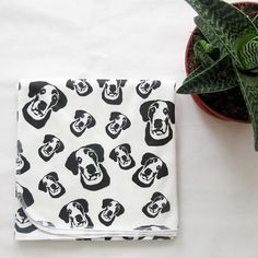 Organic Swaddle Set With Great Dane Print For Newborn Baby, Pregnancy Announcement Dog, Gender Neutral Coming Home Outfit, Baby Shower Gift babyswaddle Baby Swaddle, Swaddle Blanket, Organic Baby, Organic Cotton, Pregnant Dog, Coming Home Outfit, Baby Shower Gifts, Baby Gifts, Cute Babies