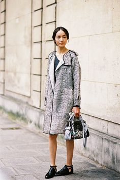 Utterly Chic Outfits To Get You In The Mood For Fall Street Style with Vanessa Jackman [ Find. ]Street Style with Vanessa Jackman [ Find. Vanessa Jackman, Cool Girl Style, My Style, Couture Fashion, Girl Fashion, Paris Fashion, Street Fashion, Valentino Couture, Style Snaps