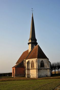 Eglise d'Aux Marais - Oise