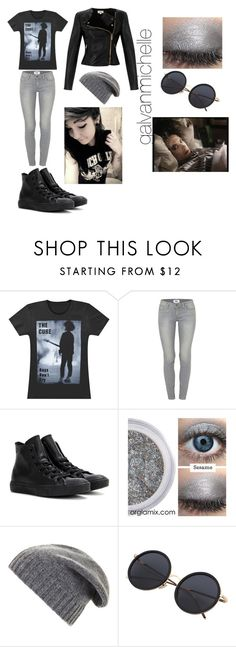 """""""The Cure Outfit"""" by galvanmichelle ❤ liked on Polyvore featuring Paige Denim, Converse, BCBGMAXAZRIA and Temperley London"""