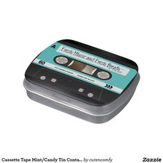 Cassette Tape Mint/Candy Tin Container Jelly Belly Candy Tins