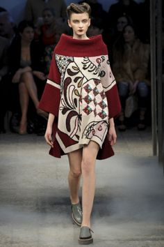 Sfilata Antonio Marras Milano - Collezioni Autunno Inverno 2014-15 - Vogue