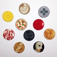 project - ipnot Japanese Embroidery, Embroidery Ideas, Punch Tool, Punch Needle, Needlework, Coasters, Sewing, Instagram Posts, Artist
