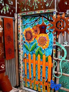 Cool Ways to Paint Doors