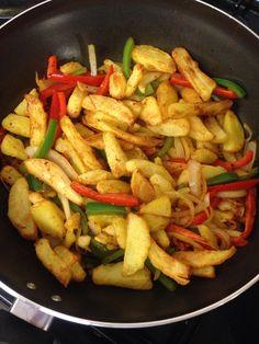 Slimming world salt n pepper chips