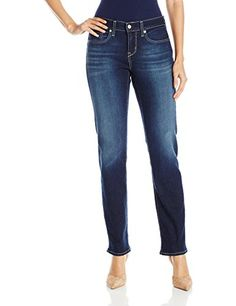 Women's Jeans - Signature by Levi Strauss  Co Womens Curvy Straight Jean * Be sure to check out this awesome product.