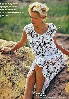 Outstanding Crochet: You can't go wrong with that dress.