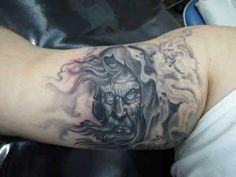 tatuagem mago castelo - Pesquisa Google