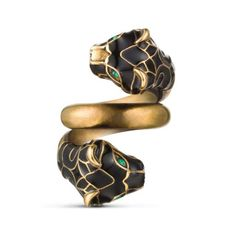 4799c00ed The Best Lion, Tiger, & Panther Insignia Rings To Rock This Season. Swarovski  Crystal ...