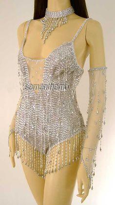 Renee Zellweger Sparkling Sequin Leotard - $149.99USD : Samantha Mo, Professional Sequin, Ballroom, Latin, Salsa, Cabaret Dance Supplies