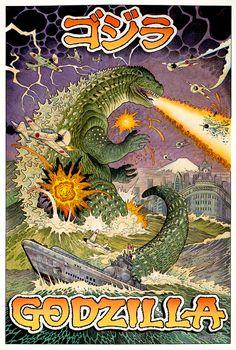 William Stout Godzilla1941ColorBlog.jpg (539×800)