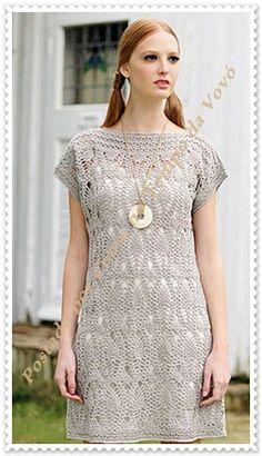 Crochet dress, chart