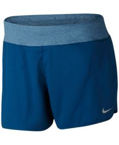 062d877201c12 Nike Flex Plus Size Running Shorts - Blue 1X Casual Shorts Outfit