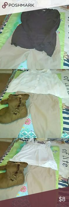 Courdory, pants. Great Shape 98% cotton, 2% Spandex, Cord jean pants, great shape wore them once. They are cute with a blouse, layered with a cardigan and a thermal top underneath. Great for fall and winter. Clean. Jessica Simpson Pants Boot Cut & Flare