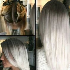 HOW-TO + Formulas #behindthechair #platinumblonde #whitehair #blonde #haircolor