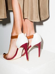 Crushing hard on this new shoe collection!