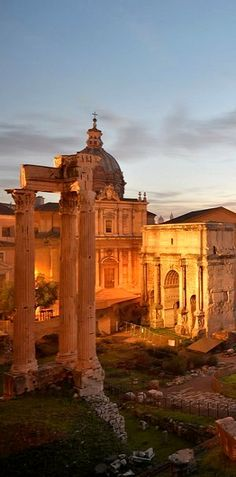 The Roman Forum, Rome Italy (by Angelo Ferraris on 500px)