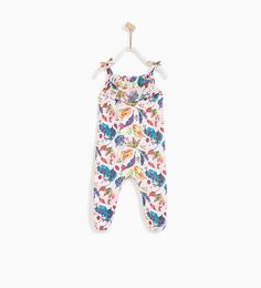 ZARA - KIDS - PRINTED FLOWING JUMPSUIT