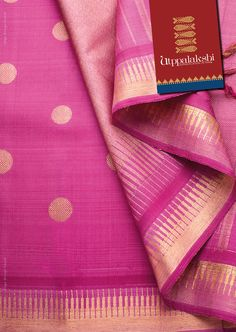 Lovely lotus Pink Kancheevaram saree with coin motifs. Casual elegance. #Utppalakshi #Sareeoftheday#Silksaree#Kancheevaramsilksaree#Kanchipuramsilks #Ethinc#Indian #traditional #dress#wedding #silk #saree#craftsmanship #weaving#Chennai #boutique #vibrant#exquisit #pure #weddingsaree#sareedesign #colorful #elite