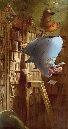 Yet yet again: Carl Spitzweg's Bookworm, hijacked