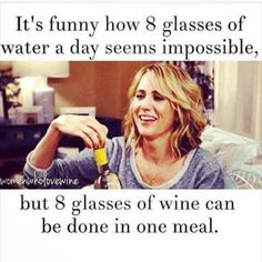 Or one episode of Bachelorette - Wine Wednesday (32 photos): theBERRY #WineWednesday #funny #Bridesmaids