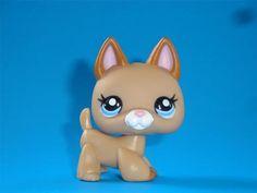 Littlest Pet Shop LPS Cutest Pet Tan German Shepherd Puppy Dog #2436  New