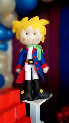 Little Prince birthday party decoration! See more party planning ideas at CatchMyParty.com!